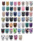 U pick Lot Alva baby Washable Reusable Cloth Pocket Diaper Nappy+1Insert 6-33lbs