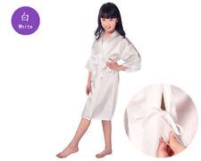 Silk flower girl Dress First Communion Dress Wedding Party Dress Sleepwear Robe