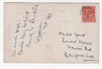 Penzance 7 Aug 1919 Single Ring Postmark 849b