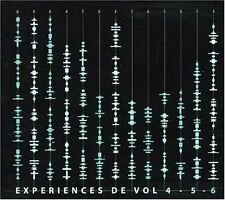 ART ZOYD Experiences de Vol 3 CDs Niblock Mache Karkowski Wishart Denis Faber