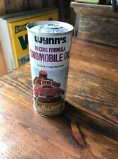 Rare Unopened Can Wynn's snowmobile oil racing formula 1971 Vtg Snomobile Wynn