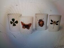 John Derian for Target Tumbler Set Insect Print 2019 20th Anniversary