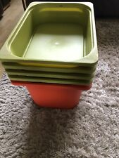 IKEA TROFAST Storage Boxes X 5 Green And Red Playroom Toy Storage