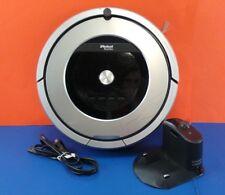 Used iRobot Roomba 860 - Silver - Robotic Robot Vacuum Cleaner Good  #su77d6
