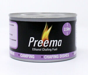 Preema Fuel Gel Lasting approx.  2.5 Hours,  24  cans
