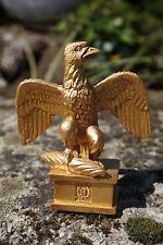 RE0179   FIGURINE STATUETTE REPRODUCTION  AIGLE  DORE  NAPOLEON  BONAPARTE