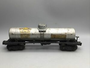 Vintage 1940 Lionel No. 955-6 Sunoco Tanker Single Stack 2555 - Restoration