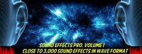2800+ Sound Effects 1.0 -  Royalty Free Professional Grade Sound Effects DVD