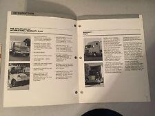 Vintage International from Navistar Warranty Plus Guide