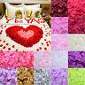 100pcs Artifical Silk Rose Flower Fake Petals Wedding Party Confetti Decoration