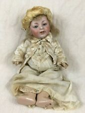 "Antique 16"" laughing baby Kestner doll German Jdk sleep eyes tongue double chin"