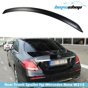 Fit For Mercedes Benz W213 E-Class Saloon Rear Trunk Spoiler A Style Unpainted