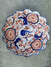 Plat imari porcelaine porcelain plate floral