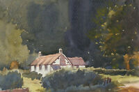 Clifford H. Thompson (1926-2017) - A Pair of Watercolours, Rural Cottages