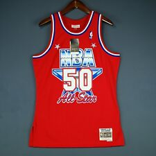 100% Authentic David Robinson Mitchell Ness All Star Swingman Jersey Size S 36