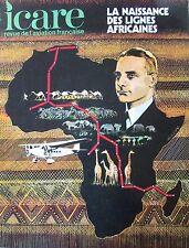ICARE REVUE AVIATION No 66 de 1973 LA NAISSANCE DES LIGNES AFRICAINES