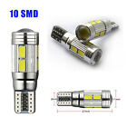 ERROR FREE CANBUS T10 10 SMD 501 W5W Car Side LED Light Interior Parking Bulb