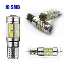 Canbus Error Free T10 10 SMD 501 W5W Lampadina LED luce freddo bianco Wedge Side