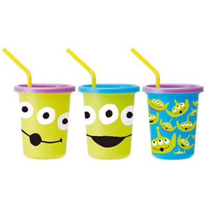 Disney Monster University Cold Cup for Kids with Lid and Straw 10 OZ. 3PCS