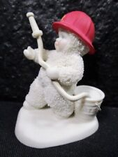 """Snowbabies Department 56 """" To The Rescue """" Figurine"""