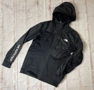 R17 The North Face Zip Up Hoodie Jacket Black Mens Extra Small