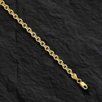"14k Yellow Gold Cable Link Pendant Chain/Necklace 20"" 1.4 mm 2.5 grams CAB035"