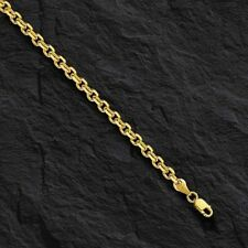 """14k Yellow Gold Cable Link Pendant Chain/Necklace 20"""" 1.4 mm 2.5 grams CAB035"""