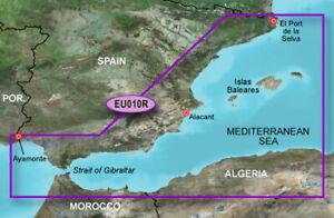 VEU010R Bluechart g3 Vision Spanische Mittelmeerküste