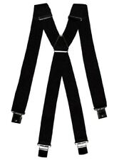 Bretelle uomo INTARSI larghe 3,5 cm fantasia grigia con clips