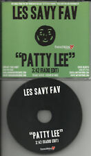 LES SAVY FAV Patty lee RARE EDIT PROMO DJ CD single 07