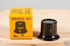 Bergeon 4422 No 3 loupe eyeglass NEW