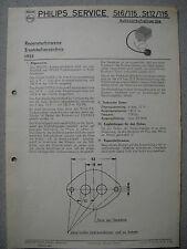 Philips St6/115, St12/115 Auto Vorschaltgerät Service Manual Ausgabe 10/55