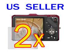2x Nikon COOLPIX S9300 S9200 Camera LCD Screen Protector Guard Shield Film