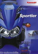 Prospetto gli atleti KAWASAKI 12/03 z750 z1000 er 5 zrx1200r zrx1200s zrx1200 2003