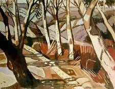 Margaret  Preston / Aboriginal Landscape. 1941, Mosman.Australian Art.