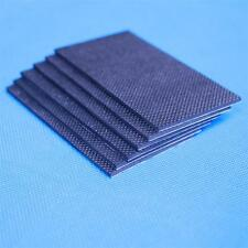 Non-Slip Rubber Pad with strong self-adhesive backing,100mmX50mmX2mm Thick, 2PCS