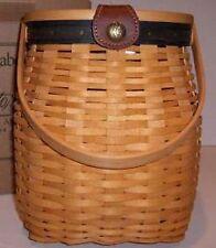 Longaberger Collector Club Anniversary Purse Basket Set - Blue & Green Complete