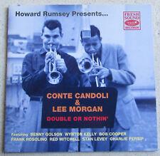 CONTE CANDOLI & LEE MORGAN    CD  DOUBLE OR NOTHIN'