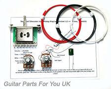 250k Telecaster Wiring Kit Mini Pots 0.022uf TL Wiring Kit de mise à niveau NEUF