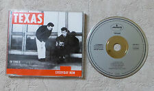 "CD AUDIO INT/ TEXAS ""EVERYDAY NOW""  CD MAXI-SINGLE  RARE 1989 MERCURY"
