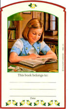 RETIRED AMERICAN GIRL KIT BOOKPLATE! SCHOOL OUTFIT~BOOK PLATE STICKER 2003!