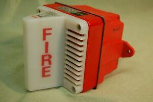 "Amseco SL-3 Fire Alarm & Strobe ""Motor Horn"""