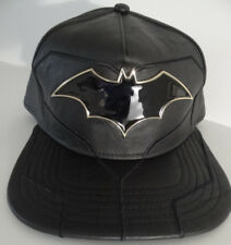 Batman Rebirth Suit UP DC Comics Faux Leather PU Snap Back Hat Nwt