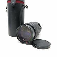 Tokina 50-200mm f3.5-4.5 RMC manual focus Lens Canon FD w/case