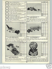 1959 PAPER AD Structo Toy Truck Wrecker Tow Dump Ride On Tonka Service Trucks