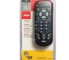 RCA RCR504BZ 4-device Palm-sized Universal Remote