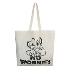 Disney - Lion King- No Worries- Official - Ladies - Tote Bag - Natural