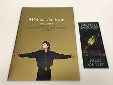 MICHAEL JACKSON THIS IS IT CONCERT TOUR TICKET MEMORIAL PROGRAM 100% ORIGINAL
