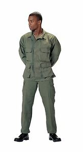 Rothco 7837 Men's Olive Drab BDU Shirt
