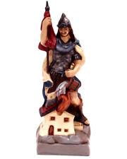 Heiliger Sankt Florian 26cm Schutzpatron der Feuerwehr Figur Dekoration Religion